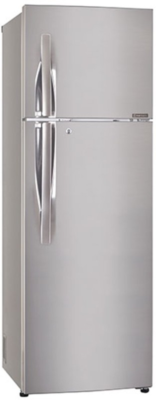 LG 255 L Frost Free Double Door Refrigerator(Shiny Steel, GL-Q282RPZY)