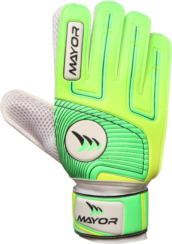 Mayor Club Goalkeeping Gloves (XL, Green)