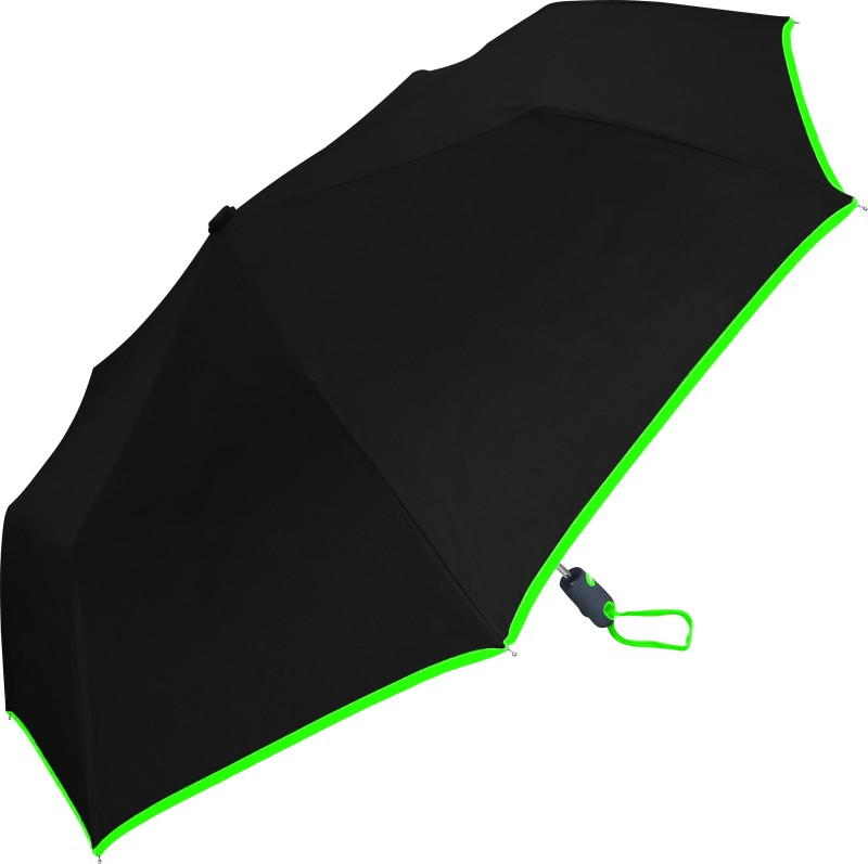 Fiestar 3 Fold Auto Open Umbrella With Cover For Protection Against Rain And UV Rays (Assorted) Umbrella(Green)