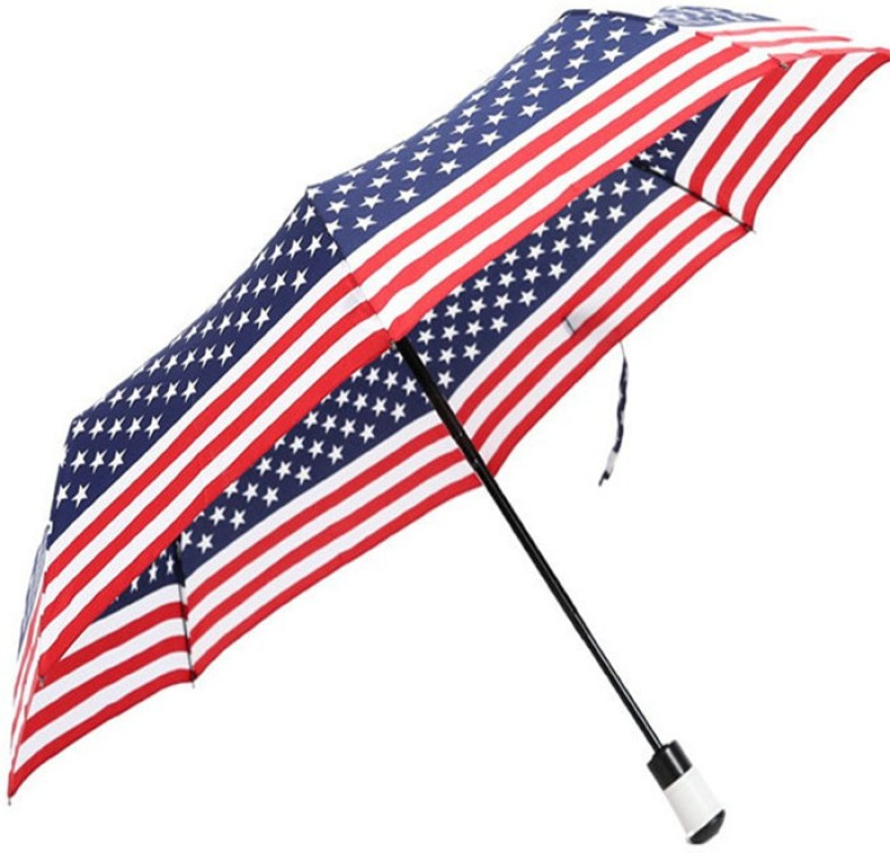 VibeX American Flag Umbrella(Multicolor)