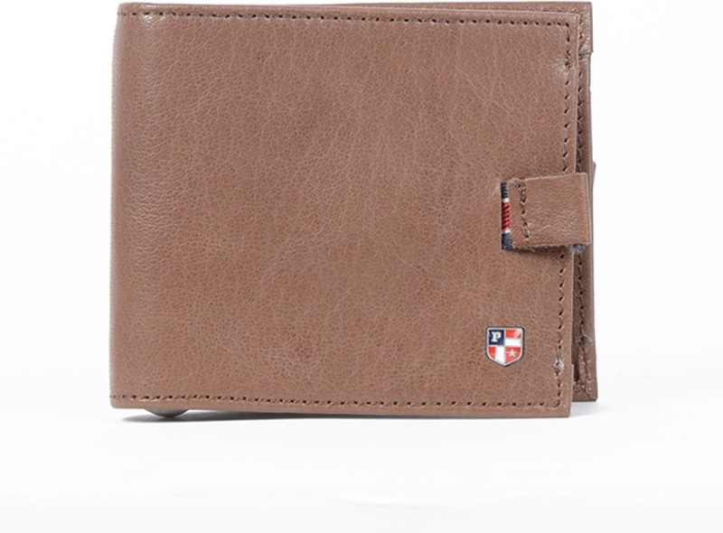 U.S. Polo Assn. Men Brown Artificial Leather Wallet(2 Card Slots)