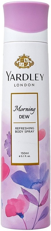 Yardley London Morning Dew Refreshing Body Spray - For Women(150 ml)