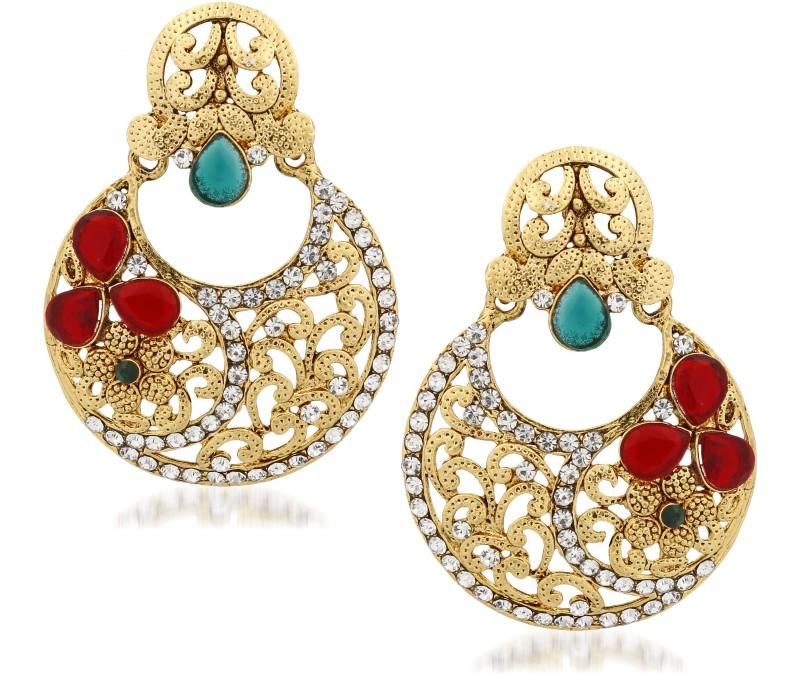 Divastri Splendid Alloy Drop Earring
