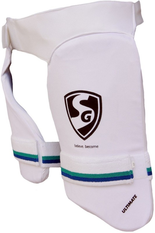SG Ultimate Combo Right Hand Cricket Thigh Guard(White)
