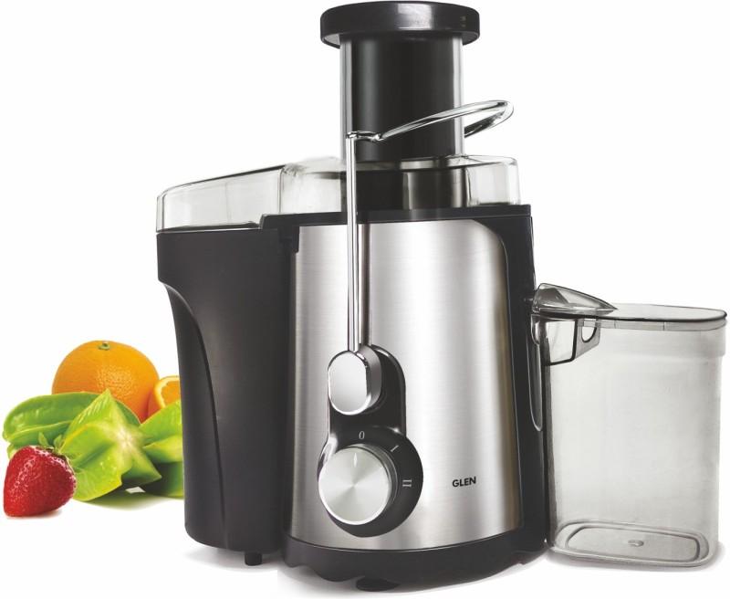 GLEN gl4019 SA-4019 500 W Juicer(Black, Grey, 2 Jars)
