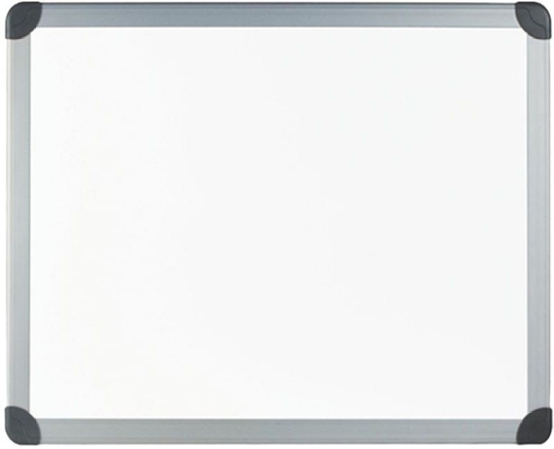 Masterfit Non Magnetic Malaminised 61 x 61 cm Whiteboards(Set of 0, White)