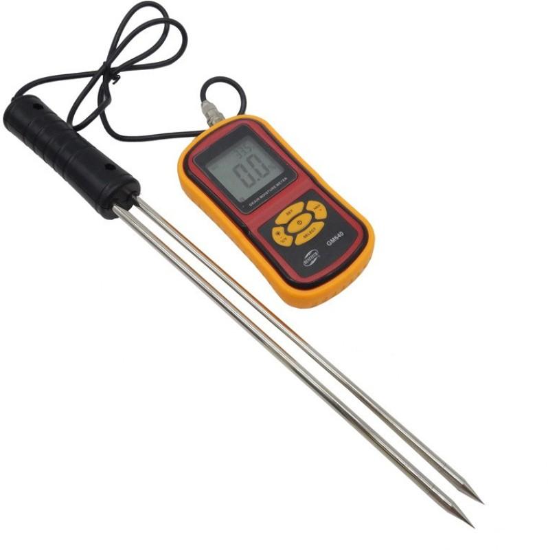 balrama Grain Meter GM640 RT640 Portable with 8 Measuring Grains Species Pin-Type Digital Moisture Measurer(30 mm)