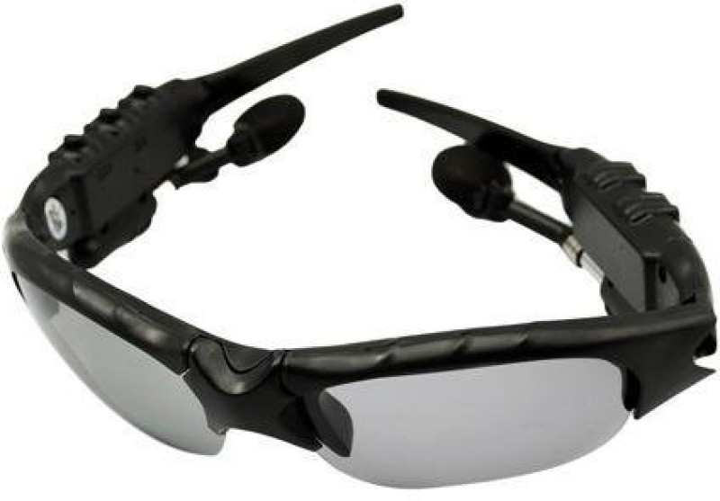 VibeX MP3 Player Sun Glasses Audio Player Running Goggles(Black)