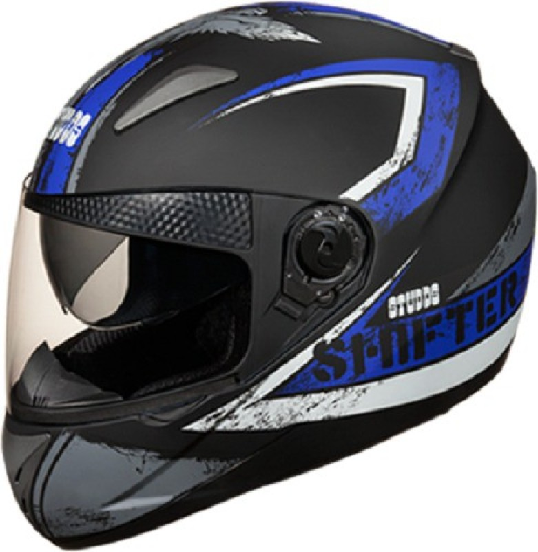 Studds Shifter D1 Decor Motorbike Helmet(D1 Matt Black N1)