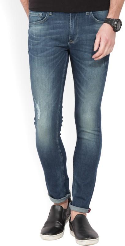 LP Jeans by Louis Philippe Skinny Men Blue Jeans