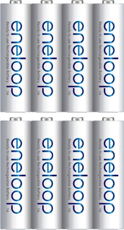 Panasonic eneloop 8 AA 2000mAh Ready to use for Multi use Rechargeable Ni-MH Battery
