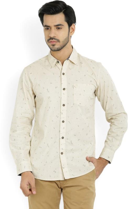 Wrangler Mens Printed Casual Shirt