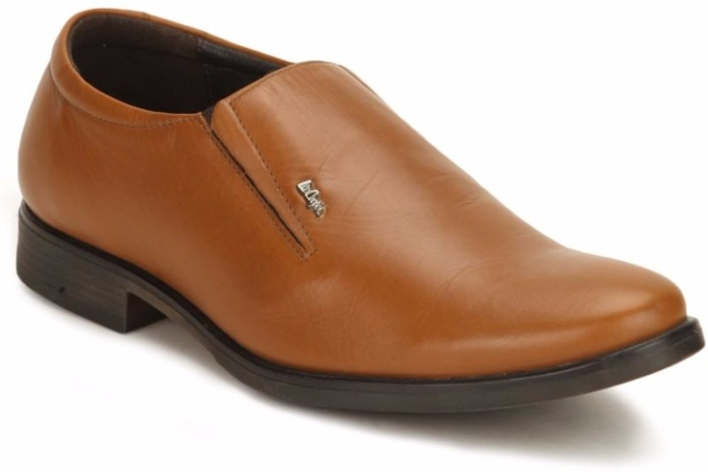 Lee Cooper Men Slip On Shoes For Men(Tan)