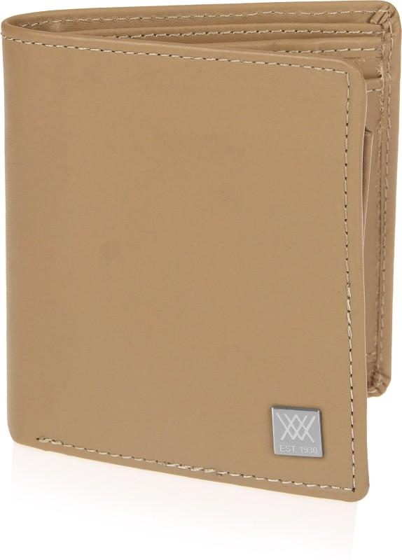 Aditi Wasan Men Brown Genuine Leather Wallet(4 Card Slots)