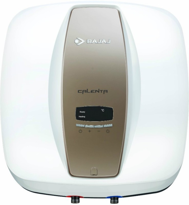 Bajaj 15 L Storage Water Geyser(White, Brown, Calenta Digi Storage - 150763)