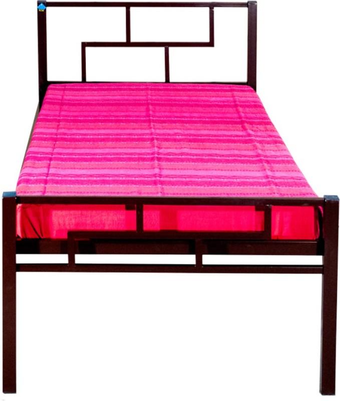 Delite Kom Aeron Metal Single Bed(Finish Color - Coffee Brown)