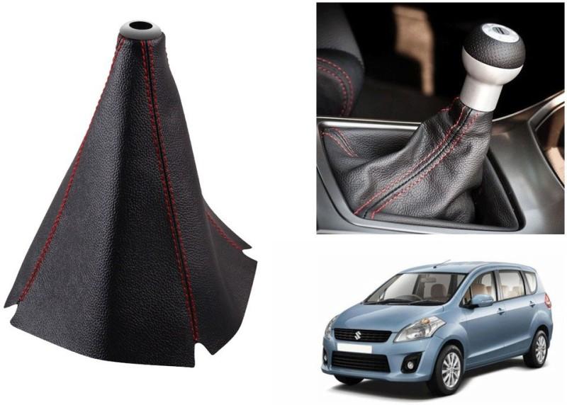 Speedwav Leatherette Cover for Maruti Ertiga Car Gear Lever(Black)