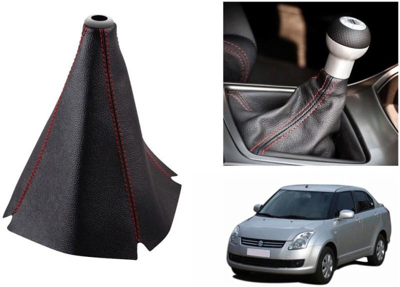 Speedwav Leatherette Cover for Maruti Swift Dzire Car Gear Lever(Black)