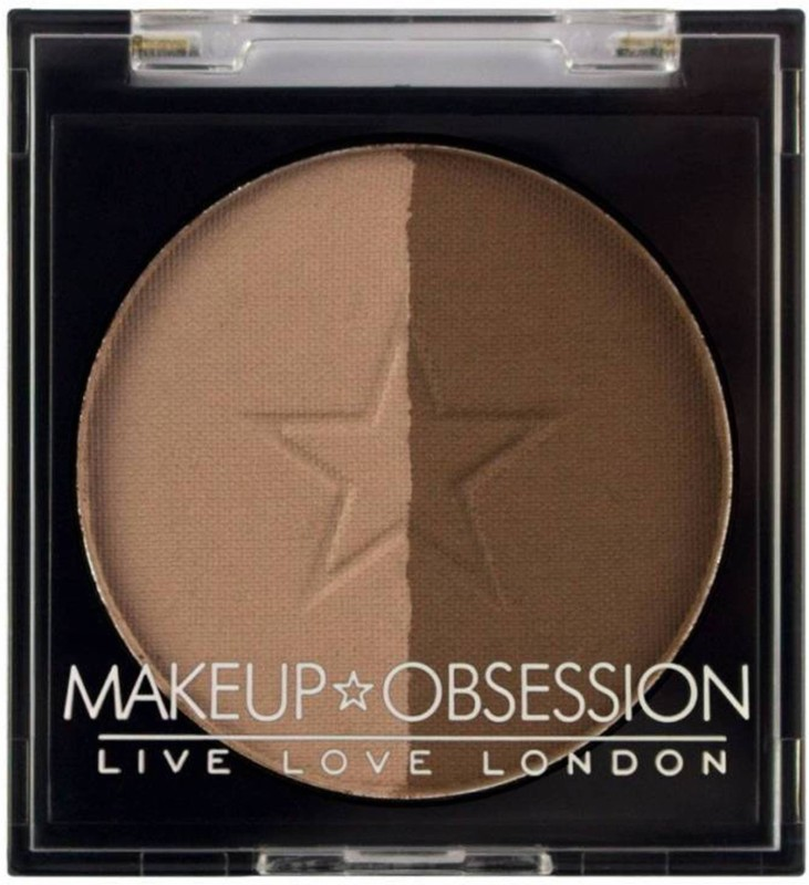 Makeup Obsession Duo Brow BR107   2 g(Dark Brown)