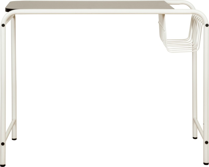 FurnitureKraft Siem Reap Metal Study Table(Finish Color - White)