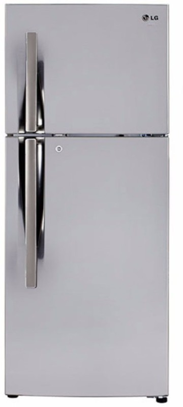 LG 260 L Frost Free Double Door Refrigerator(Shiny Steel, GL-I292RPZY)