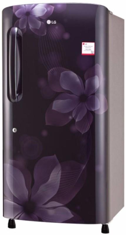 LG 215 L Direct Cool Single Door Refrigerator(Purple Orchid, GL-B221APOX)
