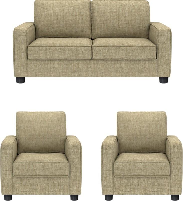 GIOTEAK Fabric 2 + 1 + 1 BEIGE Sofa Set