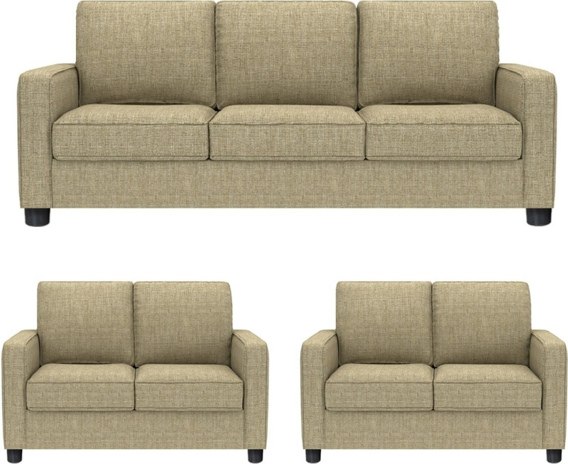 GIOTEAK Fabric 3 + 2 + 2 BEIGE Sofa Set