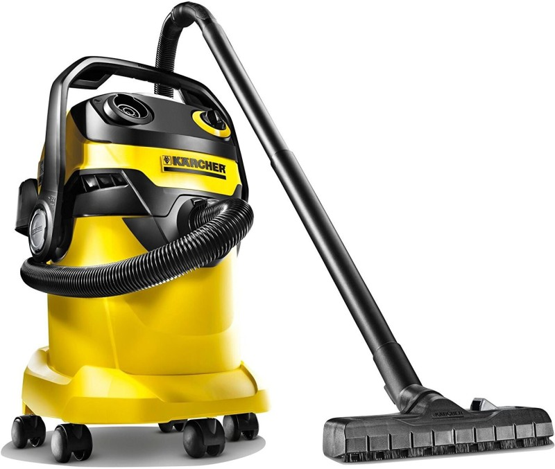 Karcher WD5 Wet & Dry Cleaner(Yellow & Black)