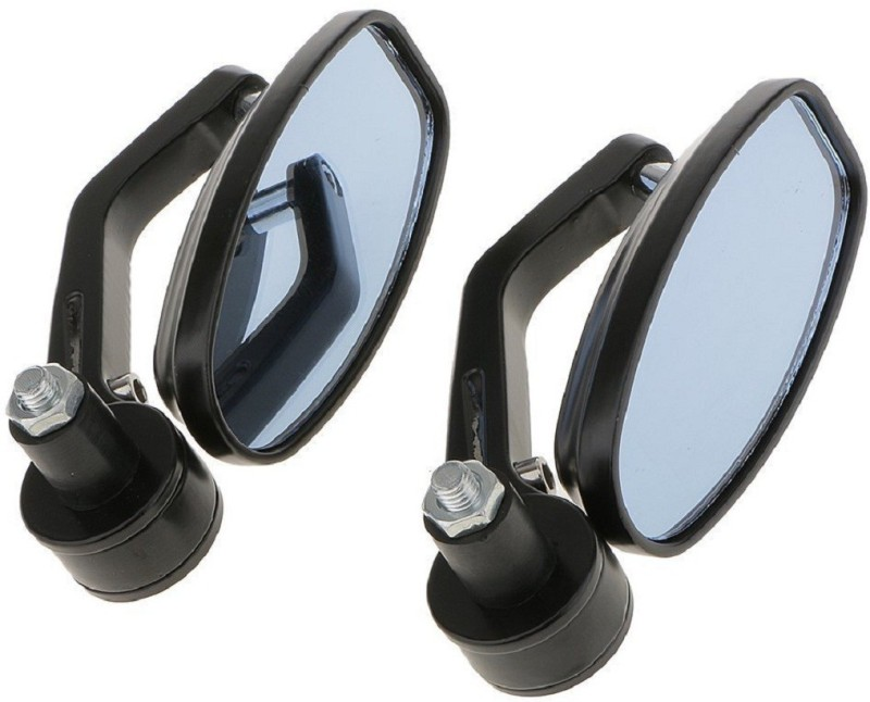 AllExtreme Manual Dual Mirror For Royal Enfield Universal For Bike(Right, Left)