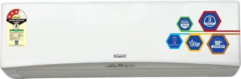 Mitashi 1.5 Ton 3 Star Split AC - White(MiSAC153v12, Copper Condenser)