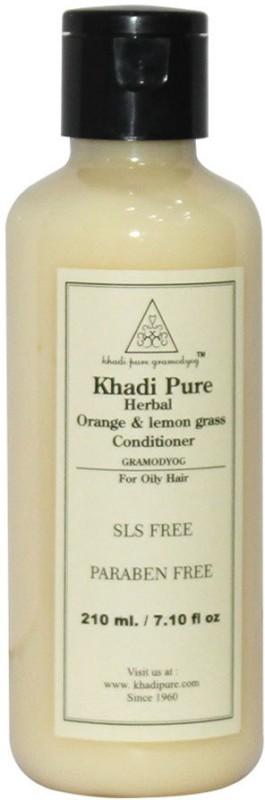 Khadi Pure Orange & Lemongrass Hair Conditioner SLS-Paraben Free(210 ml)