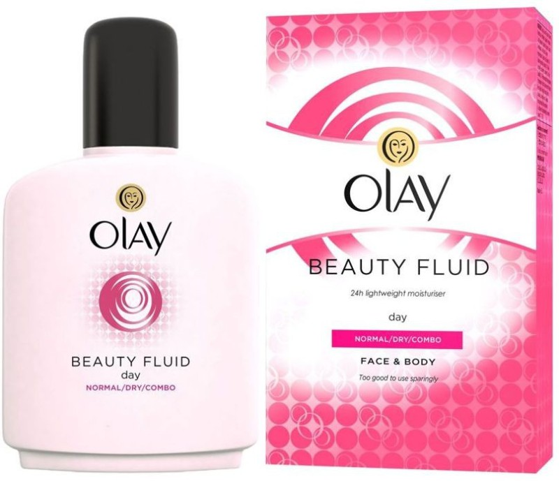 Olay Imported (Made in Poland) Beauty Fluid Normal/Dry/Combo Day Moisturizer(200.0 ml)