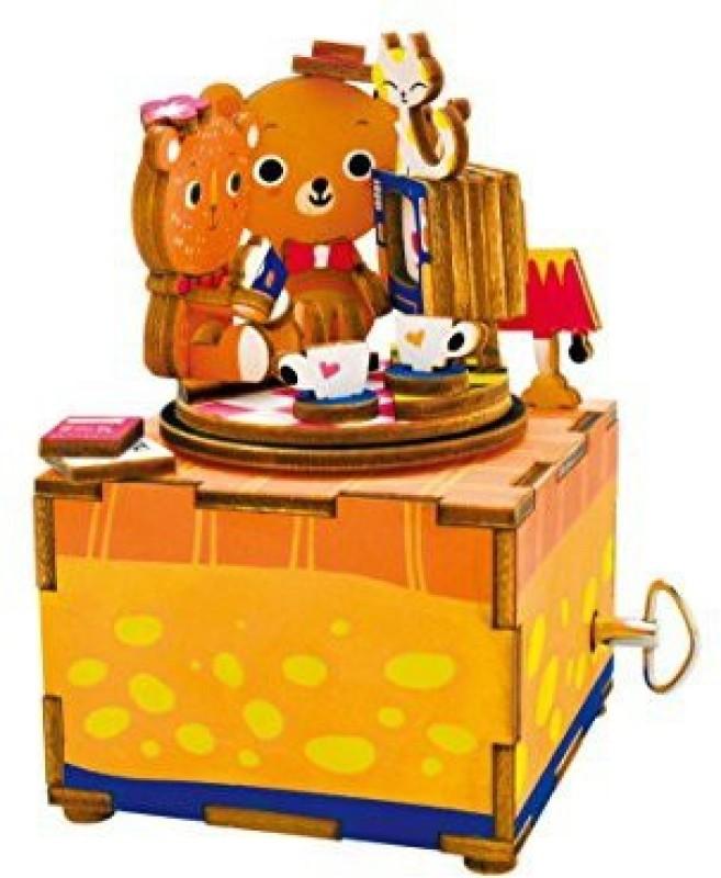 Robotime Love Story 3D Wooden Music Box Kit(1 Pieces)