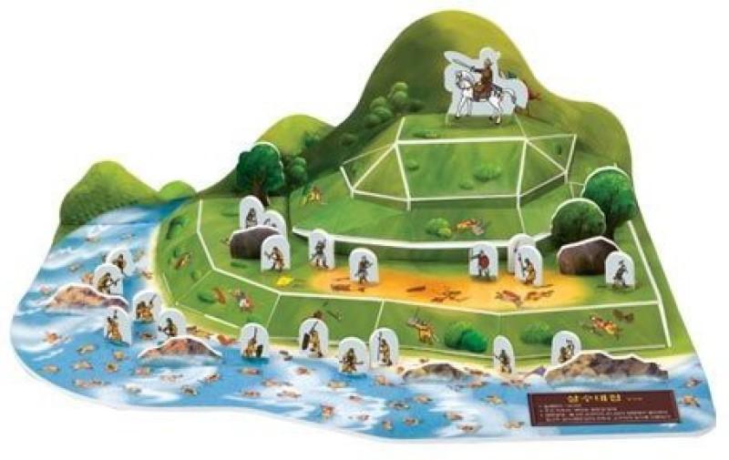 3D Jigsaw Puzzle Korea Culture Series - The Battle Of Salsu(47 Pieces)