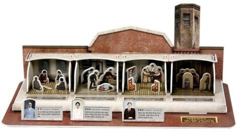 3D Jigsaw Puzzle Korea History Series - Seodaemun Criminal Prison(33 Pieces)