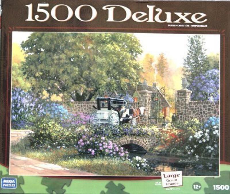 1500 DELUXEGatekeepers Cottage GatekeeperDeluxe Puzzle 32 75 X 22 5(1500 Pieces)