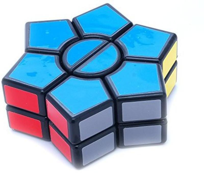 Diansheng Magic Dart Black 2 Layers Square- Shape Mod Puzzle Cube(1 Pieces)