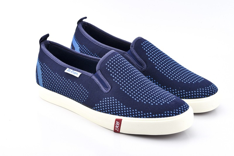 Lee Cooper Canvas Loafers(Blue)