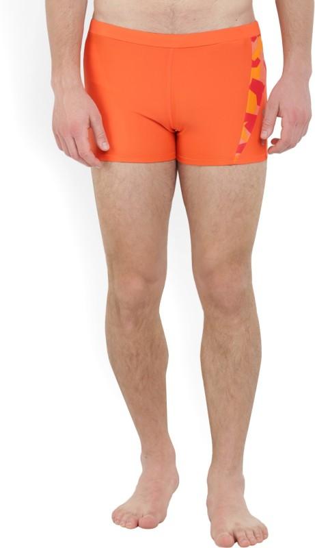REEBOK Printed Men's Orange Swim Shorts