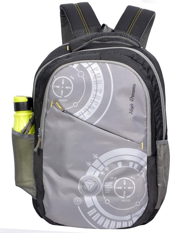 High Dreams HDRBP008 21 L Backpack(Grey)