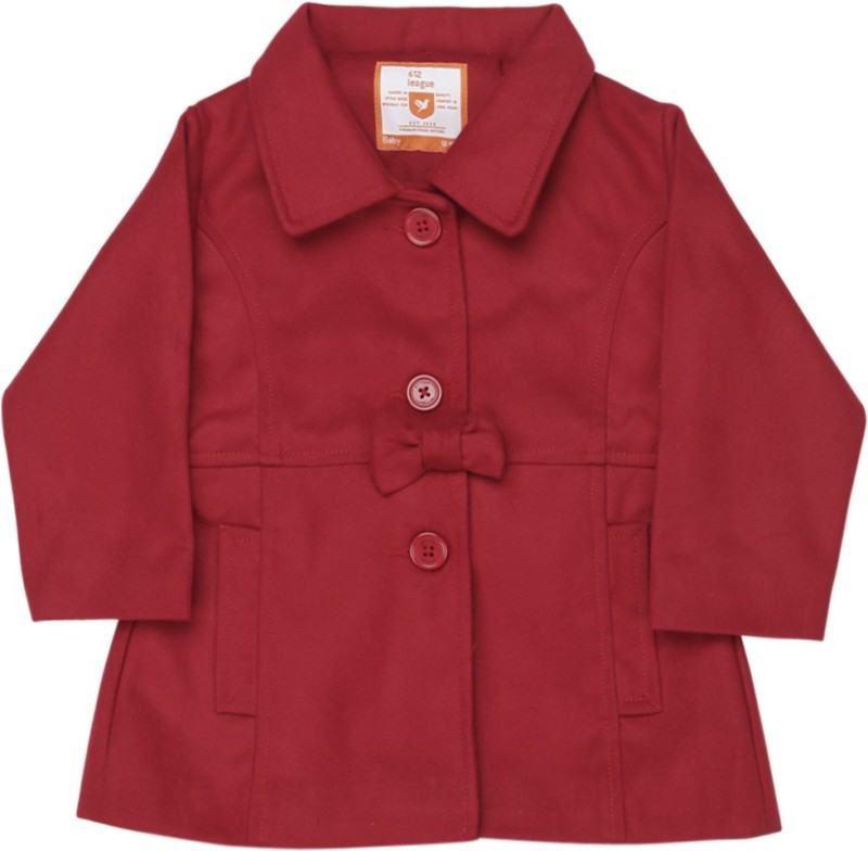 612 League Baby Girls Baby Girls Single Breasted Coat