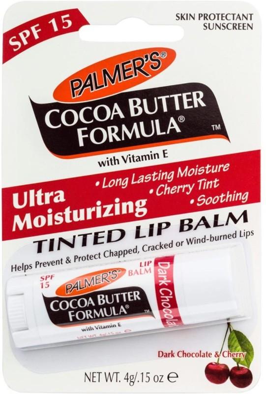 Palmer's Dark Chocolate & Cherry Tinted Lip Balm Dark Chocolate & Cherry(Pack of: 1, 4 g)