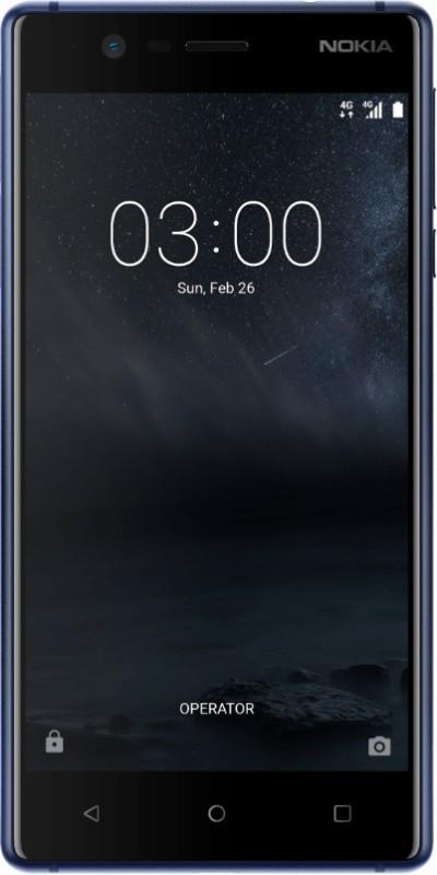 Nokia 3 (Tempered Blue, 16 GB)(2 GB RAM)