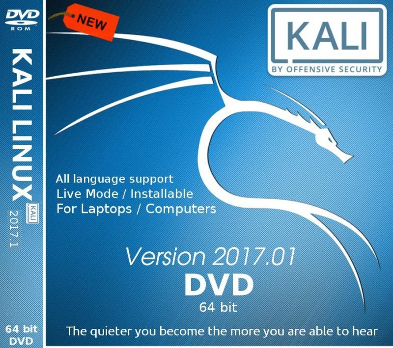 Kali Linux 2017.1 DVD 64 bit