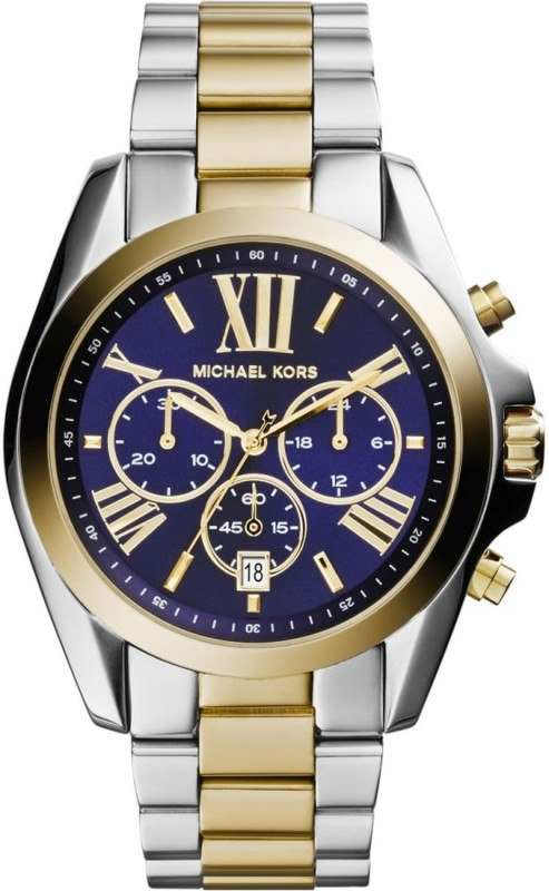 Michael Kors MK5976 Bradshaw Two-Tone Watch - For Men &...