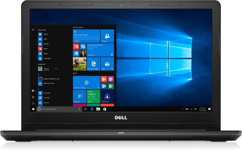 Dell Inspiron Core i3 6th Gen - (4 GB/1 TB HDD/Windows 10 Home) 3567 Notebook(15.6 inch, Black) Inspiron 3567