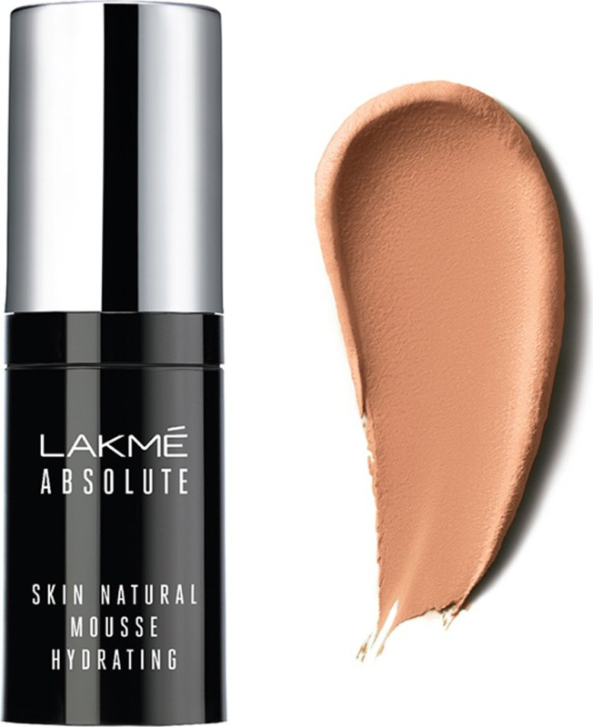 Lakme Absolute Skin Natural Mousse Hydrating Foundation(Ivory Cream, 15 ml)