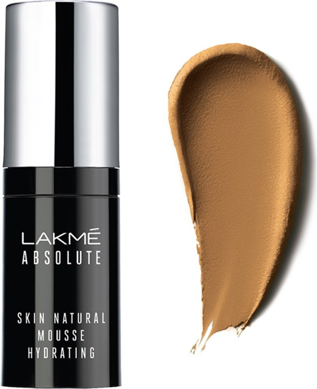 Lakme Absolute Skin Natural Mousse Hydrating Foundation(Honey Dew, 15 ml)