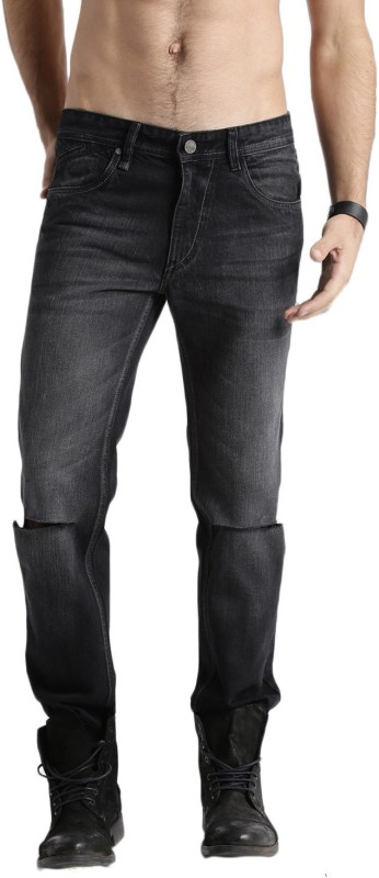 Roadster Slim Men Black Jeans
